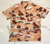Vintage Hawaiian Shirt - Made In California Button Up Pocket Shirt Aloha