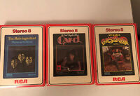 8-Track Tapes Lot 3- Sealed! Vintage -Funk-R&B