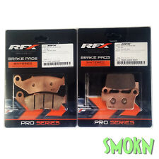 RFX PLAQUETTES DE FREIN AVANT et arrière SUZUKI RMZ 250 04-18 450 05-18 Fritté