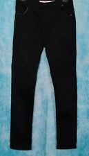 Denim Co Jeans Skinny Black Age 13-14 Years Adjustable Waist