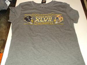 Womens Super Bowl XLVII ( 47 ) Matchup babydoll  t-shirt L