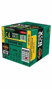 Penrite Enviro+ C4 5W-30 Engine Oil Enviro Box 20L fits Hyundai Santa Fe 2.4 ...