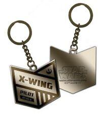 BNIB Star Wars X Wing Pilot Keychain Key Ring Rogue One NEW Christmas Present