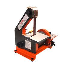 300W Belt Polishing Grinding machine disc sander MM4113 25*762mm Q10059