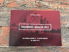 Programm Traumspiel 2017 FC Bayern München Fanclub Red Residenz Coburg FCB
