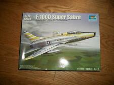 1:72 PLASTIC MODEL KIT of a F-100D SUPER SABRE JET by TRUMPETER