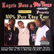 FREE US SHIP. on ANY 3+ CDs! NEW CD Layzie Bone & Mo Thugs Records P: 100% Thug