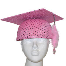 Cappello TOCCO LAUREA rosa con paillets