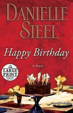Happy Birthday by Danielle Steel (Paperback / softback)