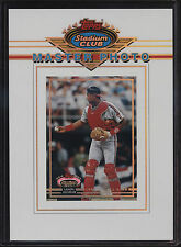 1993 Stadium Club 5x7 Master Photo Sandy Alomar Cleveland Indians 1992 All Star
