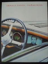 PARTITION DE COLLECTION * DONALD FAGEN * KAMAKIRIAD 1993 STEELY DAN MUSIC