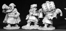Dwarf Brewmeister Reaper Miniature Dark Heaven Legends D&D RPG Dwarves Townsfolk