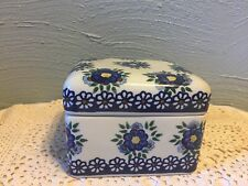 Beautiful Made In Poland Unikat Trinket Covered Box