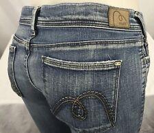"MAVI Women's [Size 30W x 32L] ""Zoe Low Rise Bootcut"" Medium Wash Blue Jeans"