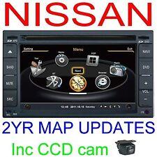 for NISSAN NAVARA D40 2005+ GPS DVD NAVI BLUETOOTH RADIO & CAMERA STEREO IPHONE