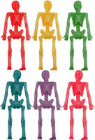 6 Stretchy Skeletons - Pinata Toy Loot/Party Bag Fillers Wedding/Kids