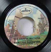 Soul Nm! 45 Hamilton Bohannon - The Groove Machine / Love Floats On Mercury