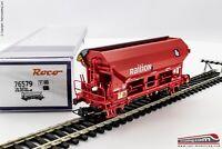 ROCO 76579 - H0 1:87 - Carro tramoggia a tetto apribile e carico Railion tipo Td