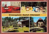"""Ansichtskarte Atterwasch-Schenkendöbern Ferienheim """"Seehof"""" 1985"""