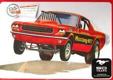 FORD MUSTANG 1965 427 SUPER BOSS DRAG RACER FUNNY CAR 1:25 AMT 888 KIT