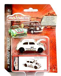 Majorette Vintage Deluxe Volkswagen Beetle Racing