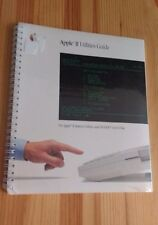 Vintage Apple II Utilities Guide 1985 New In Package Sealed Manual Book Software