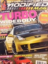 Modified Mag Magazine Turbo Widebody Celica Stunner June 2005 020518nonrh