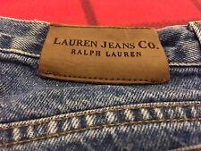 RALPH LAUREN JEANS CO. WOMEN Sz 12 (W-33 X 29) QUALITY CASUAL  BLUE JEANS PANTS