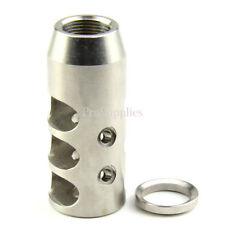 Stainless Steel .308 / 308 Muzzle Brake 5/8x24 Pitch Thread w/ Washer