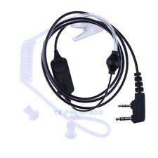 2 Pin Air Acoustic Tube Earpiece Headset for Bao Feng Kenwood Walkie Talkie TN2F