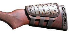 Rifle Cheek Pad / CheekRest by Itc Marksmanship / Hornback Rustic Leather
