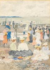 On the Beach by Maurice Brazil Prendergast 60cm x 43cm Art Paper Print