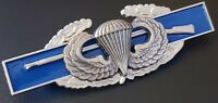 BASIC JUMP WINGS US Army Combat Infantry Badge CIB Airborne Military Rifle Pin