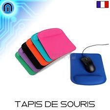 Tapis de souris mousse repose mains pour pc ordinateur souris sans fil carré