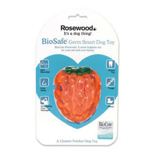 Rosewood Biosafe Raspberry Dog Toy   Anti-Microbial Floating Fruit Scent Dental
