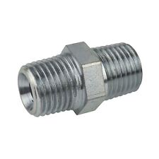 """1/2"""" BSP Male to Male Air Line Hose Compressor Fitting / Connector / Union FT0"""