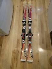 Nordica Firefox Olympia 154 cm Women's  Skis and  Demo Adjustable Bindings