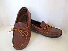 Orvis Gokey Double Sole Moc Slippers - Men's Size 9 - Brown - MSRP: $199