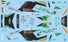 DECALS 1/43 CITROËN XSARA WRC - #4 - BONJEAN - RALLYE WALLONIE 2014 - D43402
