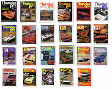 Thunder Am Magazine Pontiac Firebird Trans Am 1975 1976 1980 1981 1982 1983 NOS