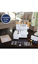 BROTHER 1034DX ELITE 3/4 SERGER SEWING MACHINE W/ DIFFERENTIAL FEED POWER PEDAL