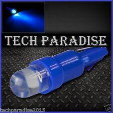 3x Ampoule T5 W1.2W W2X4.6D ( B8.3D / B8.5D ) LED Bulb Bleu Blue Neo Wedge