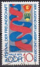 DDR Mi.-Nr. 2044 gestempelt 10 Pf. Festival der Jugend der UdSSR u. der DDR