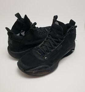 Mens Air Jordan XXXIV 34 Black Cat Nike Basketball Shoe AR3240-003 Size 8
