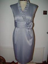 Jessica Howard Azul Hielo Ocasión Vestido. Talla 10 BNWT
