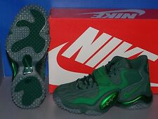 MENS NIKE AIR ZOOM TURF JET '97 NFL in colors GREEN / GREEN / PINE SIZE 9