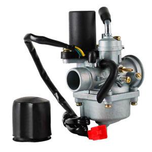 Vergaser 17.5mm mit E-Choke für Roller Carburetor 2-Takt PIAGGIO 50/JOG50