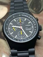 LORSA automatic chronograph Valjoux 7750 clone - new and unworn RRP 899$