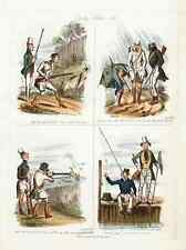 063 Sporting Sketches vintage Photo Print A4