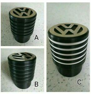 VW T4 Gear Shift Knob Ribbed Black